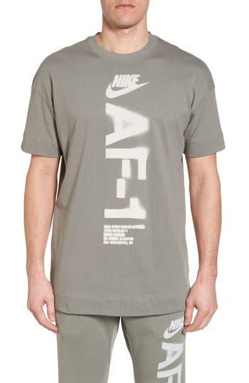 Nike Nsw Heavyweight Af-1 T-Shirt, Green