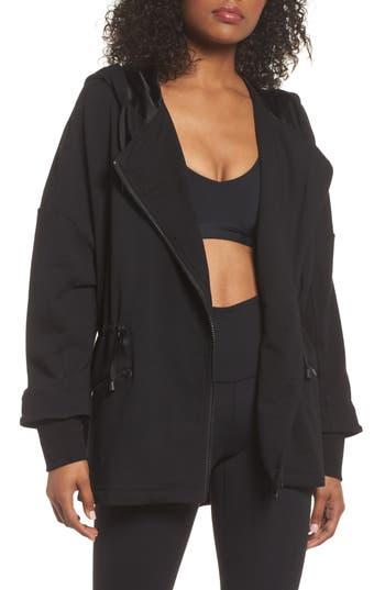 Blanc Noir Ryder Fleece Jacket, Black