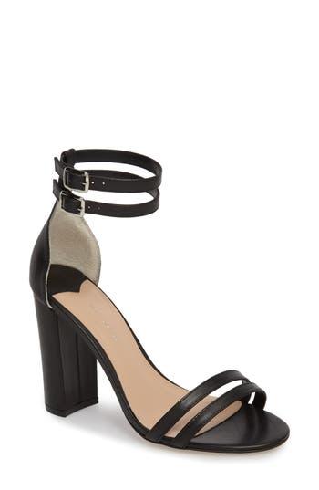 Tony Bianco Kelly Block Heel Sandal- Black
