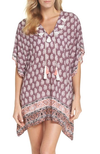 Surf Gypsy PLUM PARADISE COVER-UP TUNIC