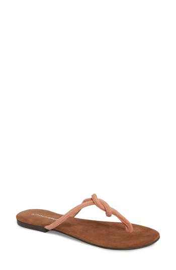Women's Jeffrey Campbell Malia Flip Flop, Size 8 M - Pink