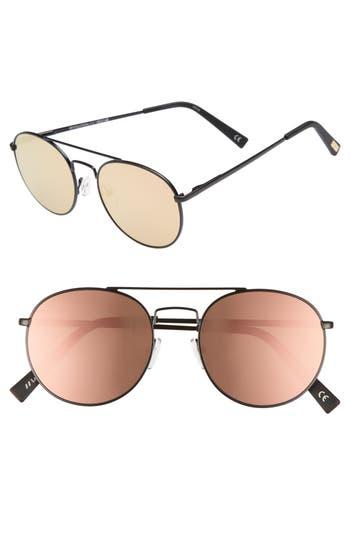 Le Specs Revolution 5m Aviator Sunglasses - Matte Black