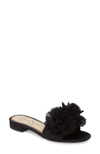 Jessica Simpson Caralin Slide Sandal, Black