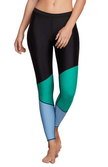 Volcom Simply Solid Leggings, Green
