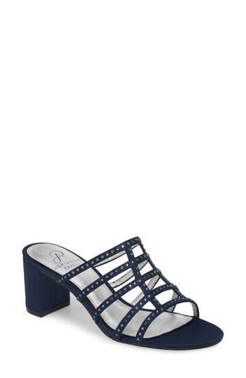 Adrianna Papell Apollo Block Heel Sandal, Blue