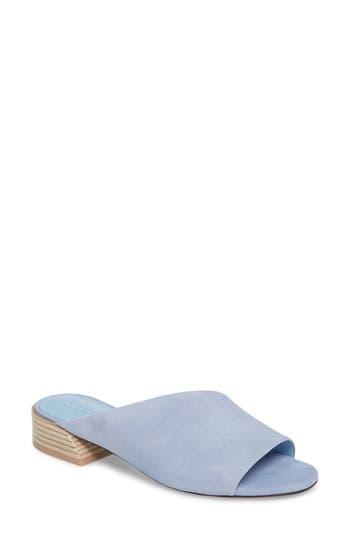 Mercedes Castillo Irene Asymmetrical Sandal Mule, Blue