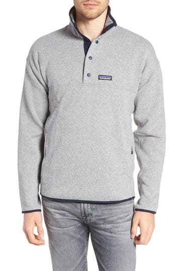 Patagonia Lightweight Better Sweater Pullover, Grey