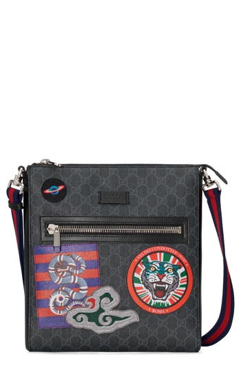 e6854fa76faf Gucci Night Courier Gg Supreme Messenger Bag - Black | ModeSens