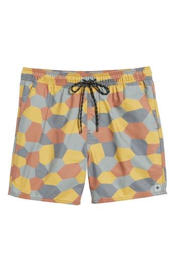 Tavik Belmont Pool Shorts, Orange
