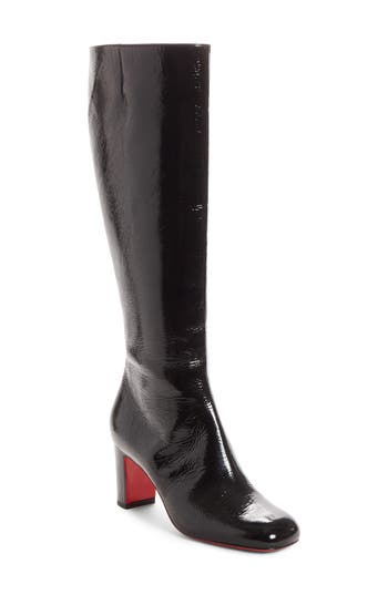 Christian Louboutin Cadrilla Knee High Boot, Black