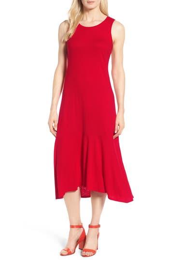 Nic+Zoe Road Trip Tank Dress, Red