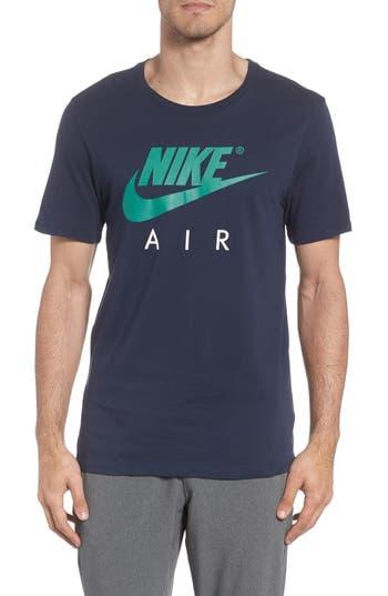 Nike Nsw Air 3 Crewneck T-Shirt, Blue