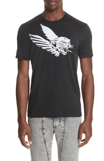 Givenchy Flying Tiger Graphic T-Shirt, Black