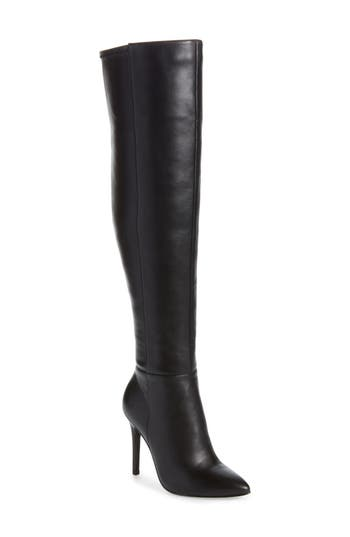 Charles By Charles David Debutante Thigh High Boot, Black