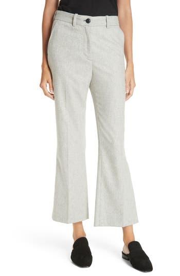 Rag & Bone Libby Crop Flare Pants, Grey