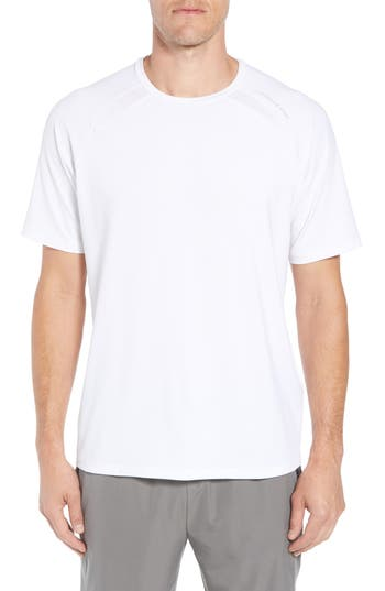 Vineyard Vines Mesh Inset T-Shirt, White