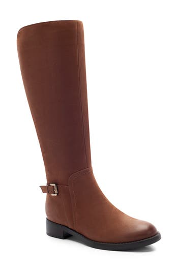 Blondo Evie Riding Boot- Brown