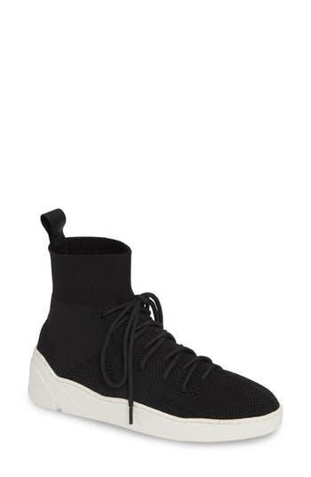 Jslides Jilly High Top Sneaker, Black