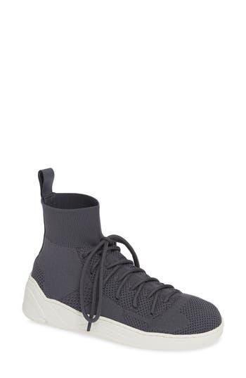 Jslides Jilly High Top Sneaker, Grey