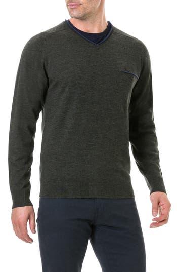 Rodd & Gunn Goose Bay Wool Sweater, Green