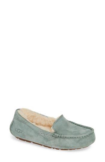 Ugg Ansley Water Resistant Slipper, Green