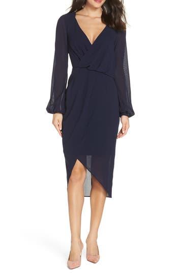 Cooper St Ginger Asymmetrical Dress, Blue