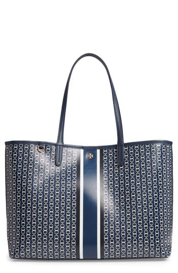 Gemini Link Coated Canvas Tote - Blue, Royal Navy