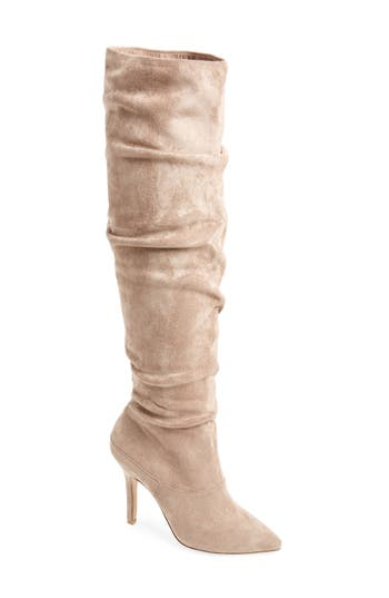 Charles By Charles David Mueller Over The Knee Boot, Beige