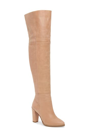 Alla Over The Knee Boot, Blush Leather