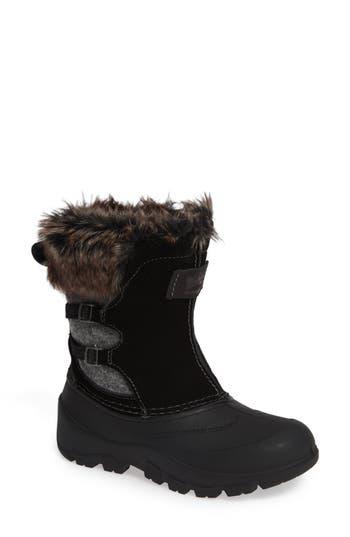 Woolrich Icecat Ii Fully Wooly Waterproof Insulated Winter Boot- Black