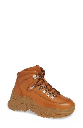 Debris Sneaker Boot, Tan Honey