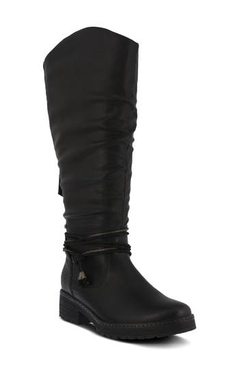 Spring Step Vanquish Knee High Boot - Black