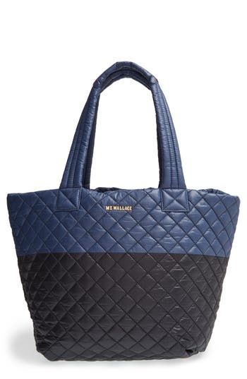 Mz Wallace 'Medium Metro' Quilted Oxford Nylon Tote -