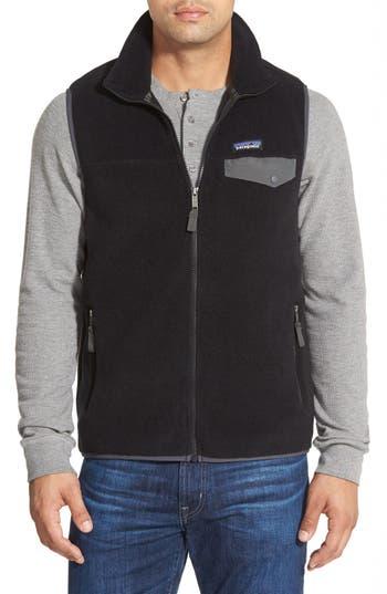 Men's Patagonia Synchilla Snap-T Zip Fleece Vest