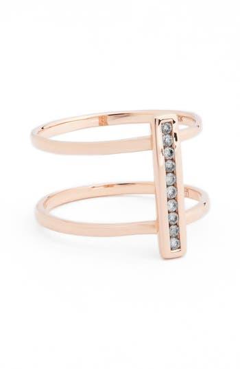 Women's Anna Sheffield 'Licol' Diamond Bar Ring