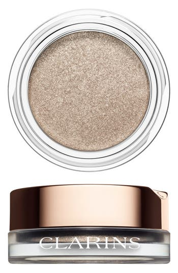 Clarins 'Ombre Iridescente' Cream-To-Powder Iridescent Eyeshadow - Silver Ivory 04