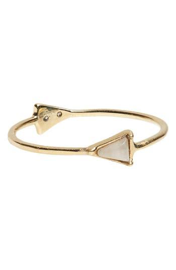 Women's Mociun Double Triangle Ring