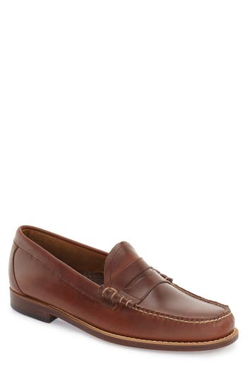Men's G.h. Bass & Co. 'Larson - Weejuns' Penny Loafer, Size 8.5 M - Brown