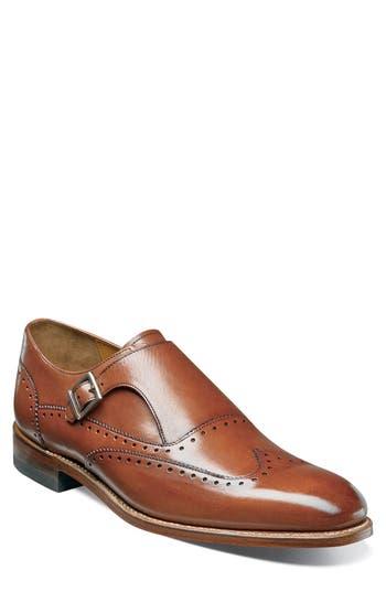 60s Mens Shoes | 70s Mens shoes – Platforms, Boots Mens Stacy Adams Madison Ii Monk Strap Shoe Size 14 D - Green $139.90 AT vintagedancer.com