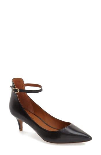 Women's Linea Paolo 'Cutie' Ankle Strap Pointy Toe Pump