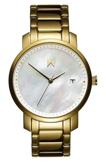 Women's Mvmt Bracelet Watch, 38Mm