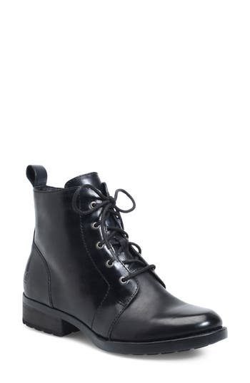 B?rn Troye Vintage Lace-Up Boot, Black