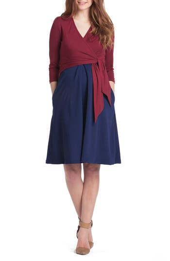Women's Lilac Clothing Abby Maternity/nursing Dress, Size X-Small - Red