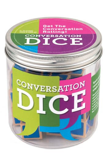 Chronicle Books Conversation Dice