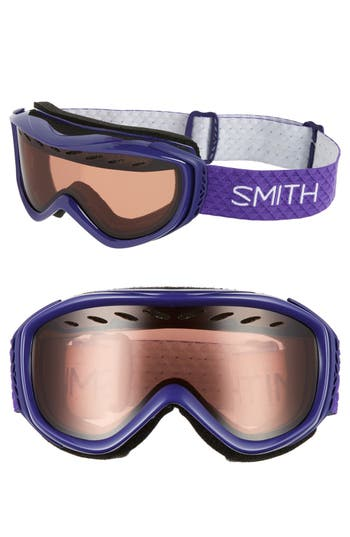 Women's Smith 'Transit' Snow Goggles - Ultraviolet/ Rc36