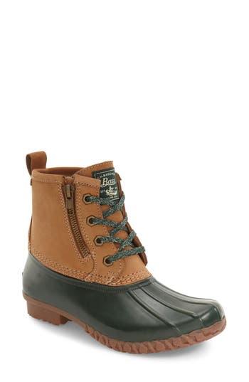 Women's G.h. Bass & Co. Danielle Waterproof Duck Boot, Size 6 M - Brown