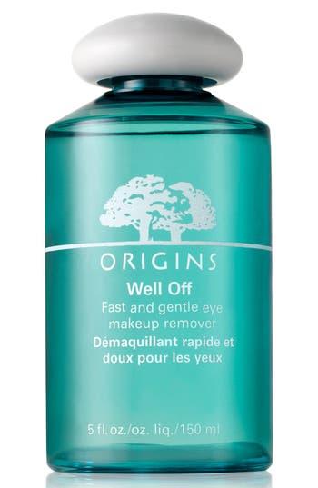 Origins Well Off Fast & Gentle Eye Makeup Remover -