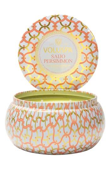 Voluspa Maison Blanc Saijo Persimmon 2-Wick Candle, oz - None