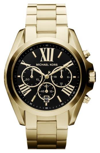 Women's Michael Kors Bradshaw Chronograph Bracelet Watch, 43Mm