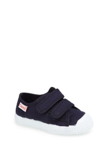 Toddler Boy's Cienta Canvas Sneaker, Size 32 EU - Blue